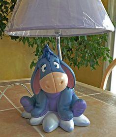Disney Eeyore lamp.