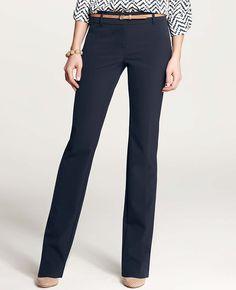 Ann Taylor - Sleek Stretch Slim Pants