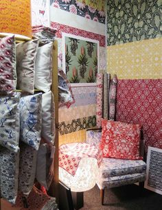 Visual journal: My favourites from Design Indaba Surface Pattern Design, Quilts, Blanket, Bed, Fabrics, Wallpapers, Home, Tejidos, Stream Bed