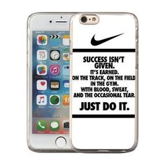 Just Do it Nike logo image Custom iPhone 6 6S 5.5 Plus PC Individualized Hard Case PC transparent style QX2yasstd028f. PC transparent (joker color) is applicable to any color of mobile phone. Material - Hard plastic material with eco packing. Special print technology to make color stay long-time. Cute design make your phone yong and stylish. Access to all of your mobile phone control buttons, easy to use.