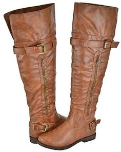 Pazzle Madden-02 Camel Women Riding Boots