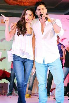 Varun Dhavan and Alia Bhatt