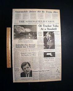 January 4, 1969.  Ted Kennedy wins Senate Whip