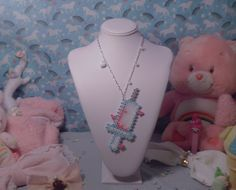 Kawaii Syringe Necklace by ~weeabootique on deviantART