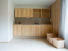 Beautiful wooden kitchen in the Finnish archipelago. Interior design by Sistem Interior Architects. Decor, Furniture, Wooden Kitchen, Wooden, Interior, Cabinet, Home Decor, Interior Architect, Interior Design