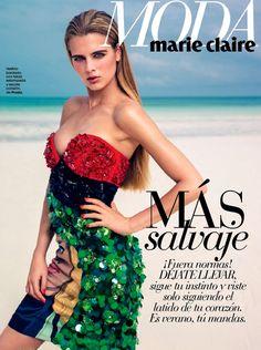 Tamara Weijenberg for Marie Clair Spain July 2014