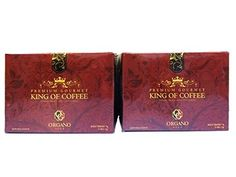 2 Box of 50 Sachets Organo Gold King of Coffee with Free 2 Sachets ** Visit the image link more details.
