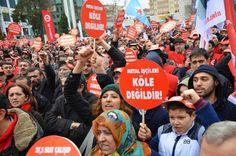 Çapulcuların Sesi...: ADIYAMAN İŞÇİ BİRLİĞİ GREV YASAĞINI PROTESTO ETTİ....