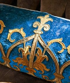 Fabulous velvet pillow