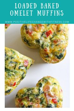 These easy, mini baked omelets are perfect to make ahead for the week. This recipe uses some of my favorite omelet ingredients but you can switch it up and add whatever you like or have on hand. Best Egg Recipes, Gourmet Recipes, Cooking Recipes, Free Recipes, Healthy Breakfast Recipes, Healthy Eating, Healthy Recipes, Clean Eating, Kids Meals