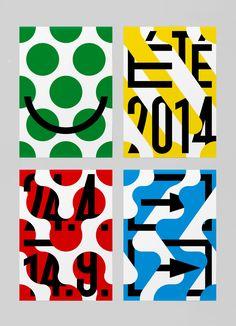 Poster Discover Wanderlust Studio Feixen Playful identity for The Wanderlust cultural center Paris Mises En Page Design Graphique, Art Graphique, Graphisches Design, Deco Design, Design Layouts, Cover Design, Poster Art, Typography Poster, Sale Poster