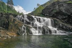 Fal - ViewBug.com Waterfall, Outdoor, Outdoors, Waterfalls, Outdoor Games, The Great Outdoors