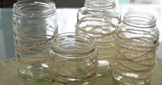How to Turn Old Mason Jars Into Beautiful and Rustic-Chic DIY Lamps - Beautiful and easy to make!