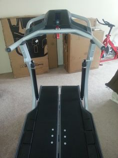 Workout at home with #Bowflex #Treadclimber