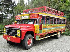 Kitsch Decor, Jeepney, Philippines Culture, Custom Jeep, Motorcycle Gear, Public Transport, Central America, Volkswagen, Transportation
