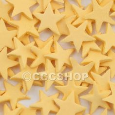 Star Cake Decorations   Gold Star Cake Decorations