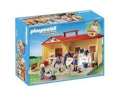 Playmobil 5348 - Stalla dei Pony Portatile, Limited Edition