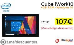 Tablet Cube iWork10 4GB por 107 - http://ift.tt/2whHv1w