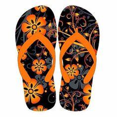 1c4b84bace8 Slippers met uitsnede bedrukken. | Bedrukte slippers - Slippers ...