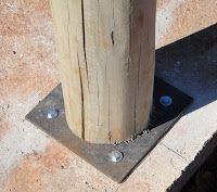 BIOARQUITETURA: Detalhe construtivo - construção com eucalipto tratado