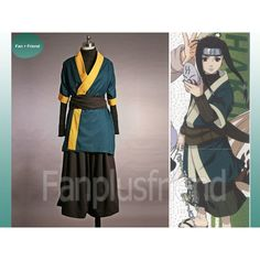 Naruto Cosplay, Haku anbu costume set ($180) ❤ liked on Polyvore featuring costumes, cosplay costumes, role play costumes and cosplay halloween costumes