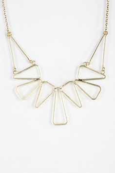 Geo Cutout Necklace #urbanoutfitters