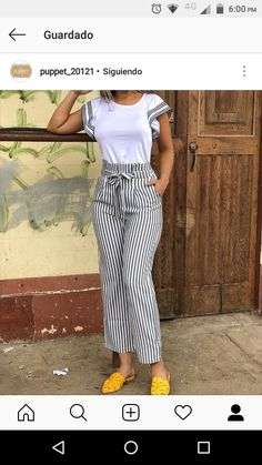 10 Practical Women's Clothes That Is Always Trending Un atuendo que se ve genial Casual Summer Outfits, Classy Outfits, Chic Outfits, Casual Dresses For Women, Clothes For Women, Fashion Pants, Look Fashion, Womens Fashion, Modest Fashion