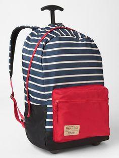 94389054658 Gap Printed roller backpack Rolling Backpack