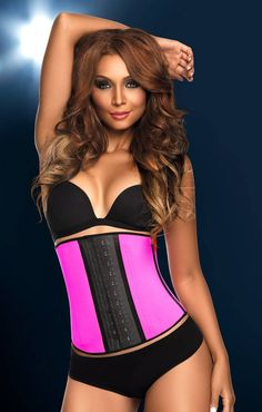 The ultimate waist training corset with 3 hooks - simply the best! Perfect for getting that hour glass look. This is the #1 Selling Waist Training style in the USA! Corset girdle body shaper, with double hook-and-eye closure, controls and slims the waistline and abdomen providing a beautiful silhouette.