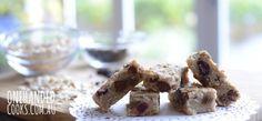 Chew-Me Oat Fruit Bars - One Handed Cooks