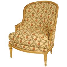 Louis XVI Bergere | From a unique collection of antique and modern bergere chairs at https://www.1stdibs.com/furniture/seating/bergere-chairs/