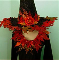 Halloween Witch Hat and Matching Leotard - adult size XXL - Fall Glitzy Witchy… Halloween Projects, Halloween 2017, Holidays Halloween, Halloween Crafts, Happy Halloween, Halloween Decorations, Halloween Party, Halloween Stuff, Halloween Witch Hat