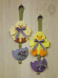 Pintainho Spring & Duck Porta Knob Hanger