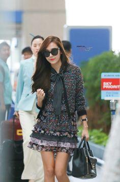 150908 - Incheon - JFK Jessica Jung Fashion, Taeyeon Jessica, Seohyun, Snsd, Airport Style, Girls Generation, Korean Girl Groups, Daily Fashion, Asian Woman