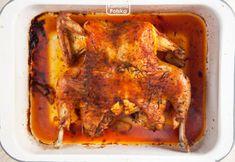 Kurczak pieczony na płasko. Cały rumiany i doskonale doprawiany. PRZEPIS Tandoori Chicken, Lasagna, Pork, Homemade, Ethnic Recipes, Kfc, Cookies, Diet, Kale Stir Fry