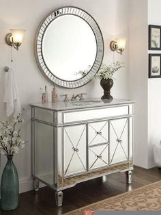 20+ Modern Luxury Mirror Bathroom Design Ideas for Your Home
