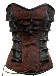 Innovative corset. I've never seen one quite like it. Available at goodgoth.com