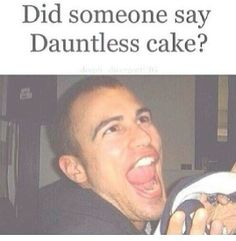 Omg Tobias (theo james) and dauntess cake