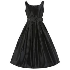 Evelana Black Party Dress | Vintage Style Dresses - Lindy Bop