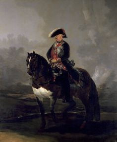 "Francisco de Goya: ""Carlos IV a caballo"". Oil on canvas, 336 x 282 cm, 1800-01. Museo Nacional del Prado, Madrid, Spain"