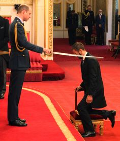 Sir Ringo Starr Is a Knight! See Prince William Award the Beatle a Royal Title