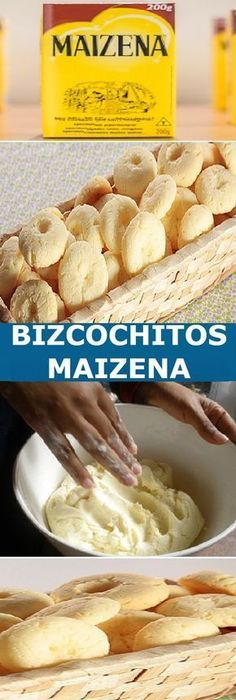 🥠BISCOCHITOS DE MAIZENA VA DERRITIR EN SU BOCA🥠 Crepes And Waffles, Frozen Puff Pastry, Decadent Cakes, Vegan Bread, Pan Dulce, Pastry And Bakery, No Bake Desserts, Sweet Recipes, Cookie Recipes