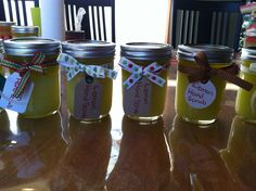 Lemon and peppermint hand scrub for teachers and grandparent gifts.