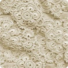 MyPicot | Free crochet patterns Motifs (4 different ones to be joined together) are for a skirt but would make a beautiful tablecloth, bedspread, afghan, etc.