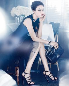 Mila Kunis Stuns in New Dior Ads.