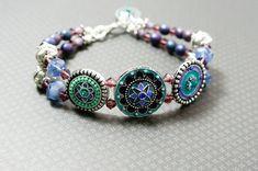 Jewellery Bling Bracelet Statement Bracelet Unique by AnjouBijoux