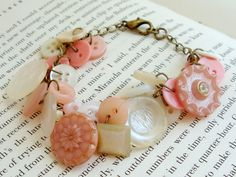 Another beautiful bracelet... I love how romantic and old this one feels.