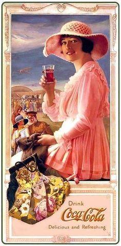 — kittyinva: Kittyinva: 1918 Coke ad.