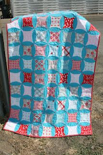 Raw Edge Cathedral Quilt Tutorial