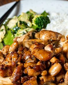Mall Style Chicken Teriyaki Delicious Teriyaki Chicken just like you get at the mall food court. Best Teriyaki Chicken Recipe, Asian Chicken Recipes, Easy Chicken Dinner Recipes, Asian Recipes, Healthy Dinner Recipes, Best Bourbon Chicken Recipe, Teriyaki Chicken Rice Bowl, Oriental Recipes, Cashew Chicken
